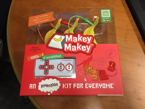The collector+39s Makey Makey packaging