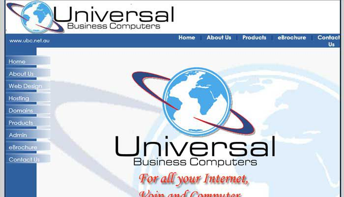 UBC Web Design 2007