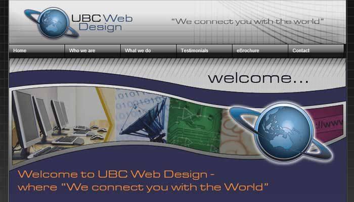 UBC Web Design 2008-2012