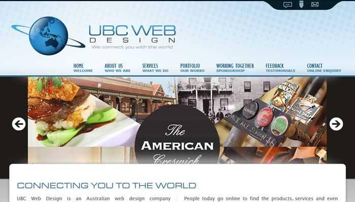 UBC Web Design 2012-2014