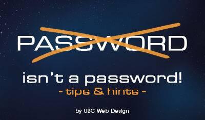 Password isnt a password big