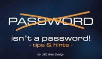 Password isnt a password