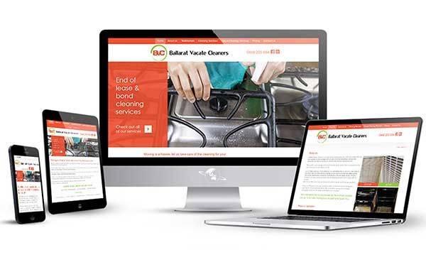Ballarat Vacate Cleaners Responsive Website