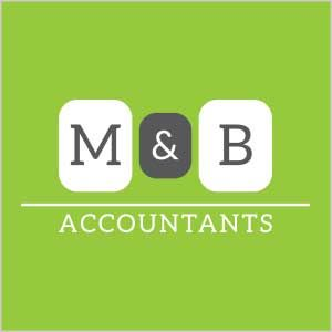 Graphic Design Logo MB Accounting