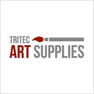 Graphic Design Logo Tritec Art Supplies