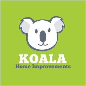 Koala Home Improvements Logo Design