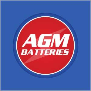 UBC Web Design Logo AGM BAtteries