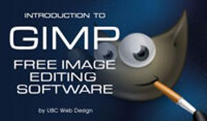 An introduction to Gimp - Free image editing software!