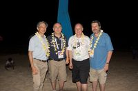 Karma Beach Dinner - David Kong - Walter Marcheselli - David Plunkett and Robert Anderson